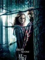 HP7 Hermoine and Ron Poster