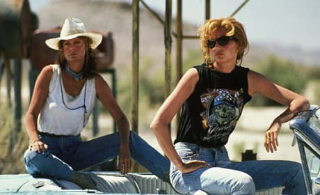 Thelma and Louise Susan Sarandon Geena Davi