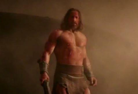 Hercules is Dwayne Johnson