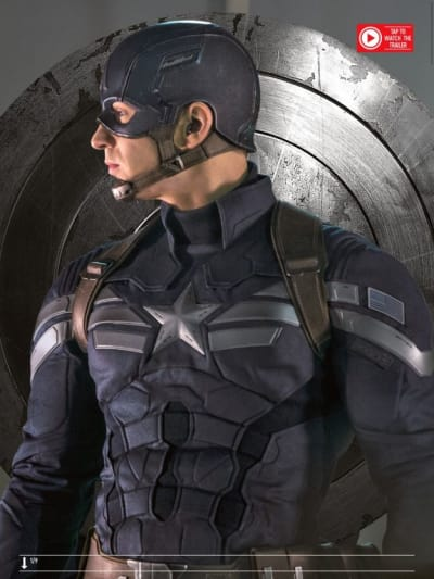 Captain America: Winter Soldier Star Chris Evans