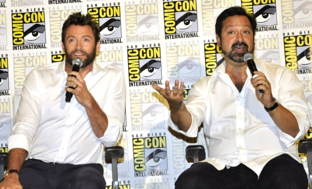Hugh Jackman James Mangold Comic-Con Photo