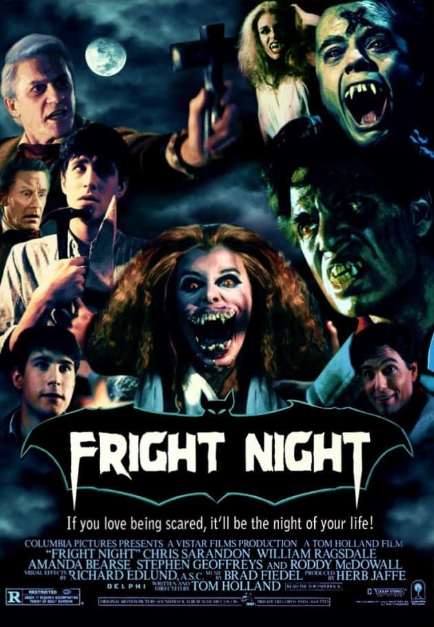 Fright Night 1985 Poster