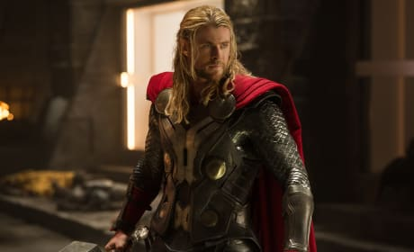 Chris Hemsworth is Thor in Thor: The Dark World
