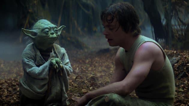 Empire Strikes Back Yoda Luke Skywalker