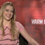 Teresa Palmer Warm Bodies Interview Picture