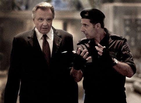 John Keller and Agent Simmons