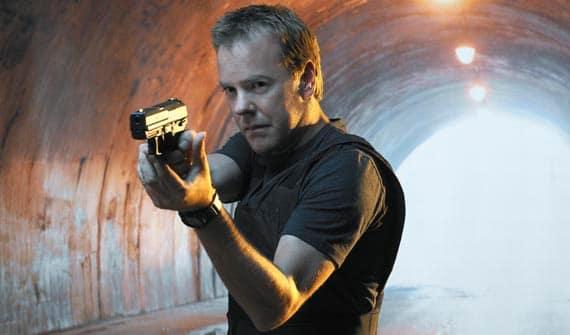 Kiefer Sutherland Stars as Jack Bauer in 24