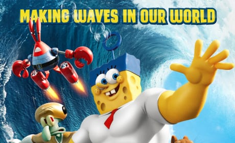 The SpongeBob Movie Sponge Out of Water Movie Poster