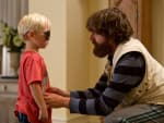 The Hangover Part III Zach Galifianakis with Kid