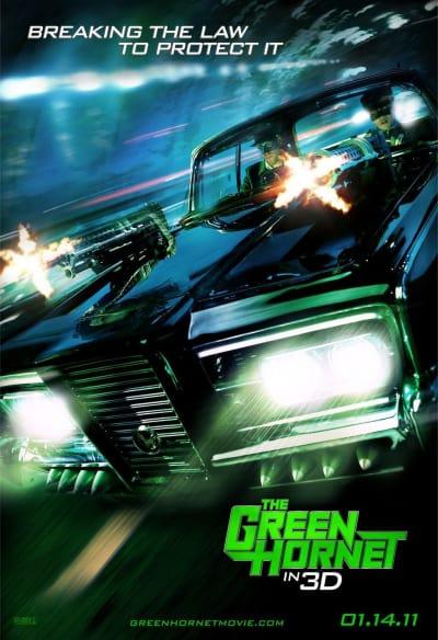 Green Hornet Poster 2