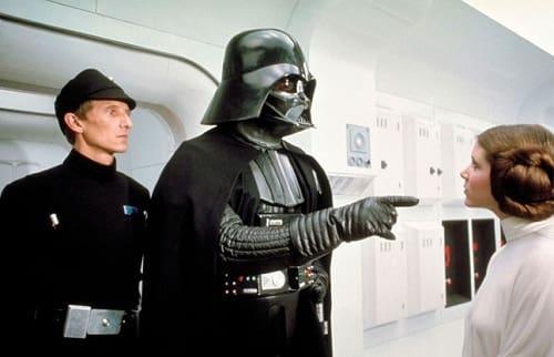 Darth Vader in Star Wars Episode 4