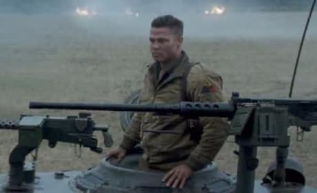 Fury Trailer: Brad Pitt & His Tank