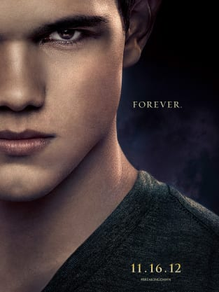 Breaking Dawn Part 2 Character Poster: Jacob