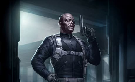 The Avengers Concept Art Revealed: Where's Nick Fury's Trench Coat?