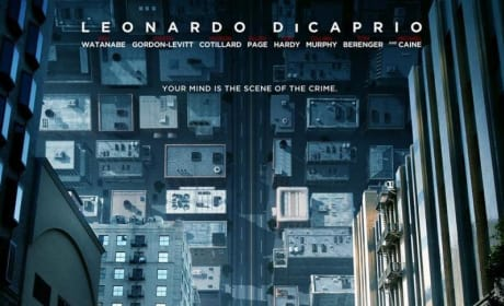 See Leonardo DiCaprio Brave Folding Streets on New Inception Poster