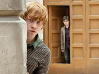 Ron and Harry Spying