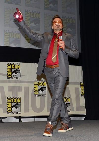Robert Downey Jr. at Comic-Con