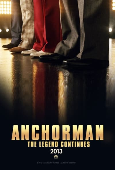 Anchorman 2 Teaser Poster