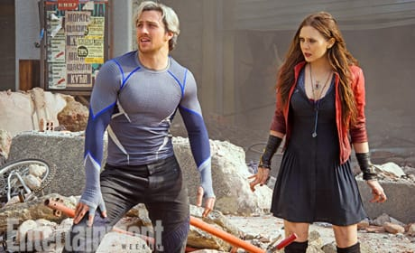"Avengers Age of Ultron: Scarlet Witch & Quicksilver Are ""Team Ultron"""