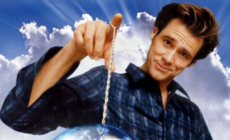 Jim Carrey in Bruce Almighty