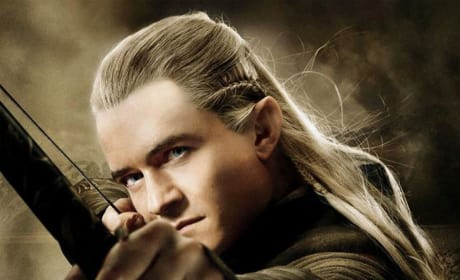 The Hobbit: The Desolation of Smaug Legolas Poster