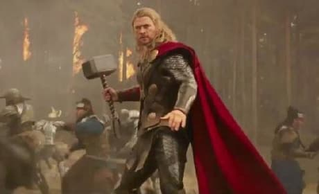 Thor The Dark World: Chris Hemsworth & Tom Hiddleston on Being Brothers in Arms