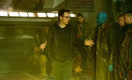 Guardians of the Galaxy Set James Gun Michael Rooker