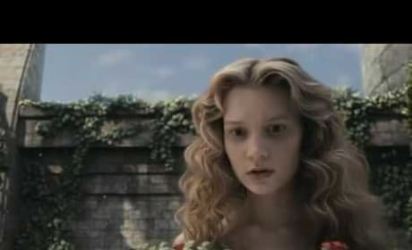 "Alice In Wonderland ""Clothe This Girl"" clip"
