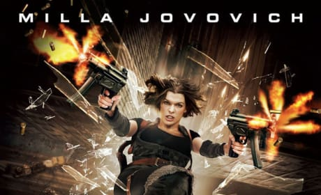 Milla Jovovich Flies Matrix-style on New Resident Evil: Apocalypse Poster