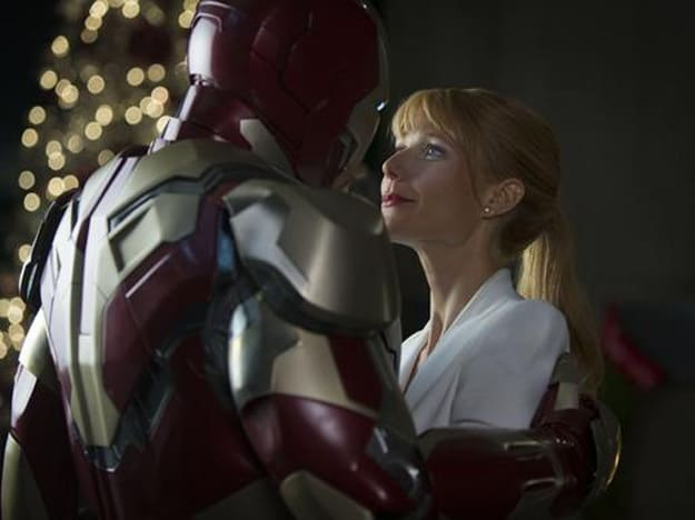 Robert Downey Jr. Gwyneth Paltrow Iron Man 3