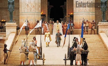Exodus: Gods and Kings Set Photo