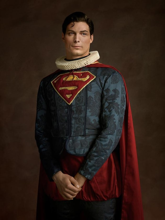 Superman In Renaissance Costume