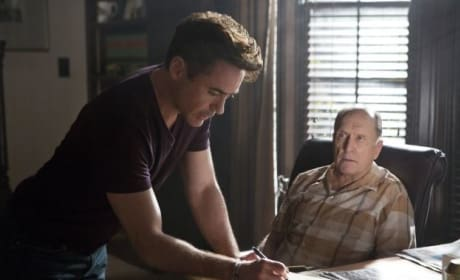 Robert Duvall Robert Downey Jr The Judge