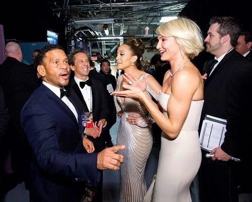 Jennifer Lopez and Cameron Diaz at The Oscars