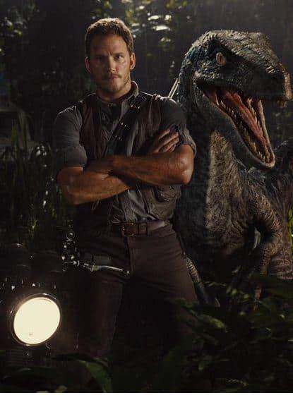 Chris Pratt Jurassic World Photo Still