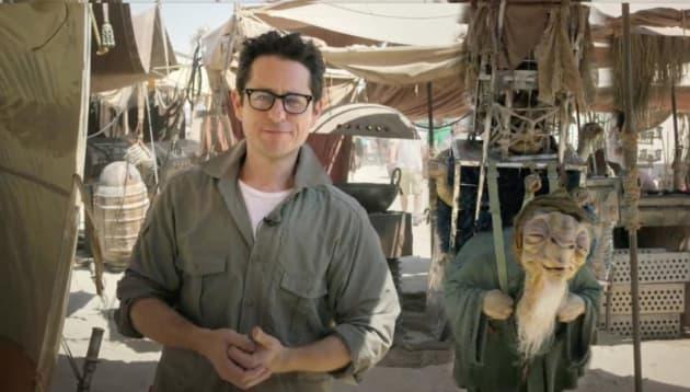 J.J. Abrams on Star Wars: Episode VII Set