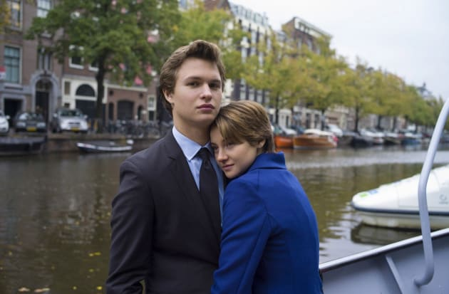 Shailene Woodley Ansel Elgort The Fault in Our Stars