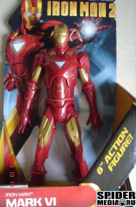 Iron Man 2 toy package