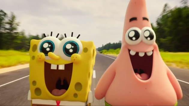 The SpongeBob Movie Sponge Out of Water Patrick SpongeBob