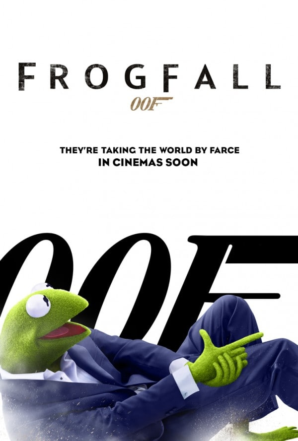 Muppets Most Wanted Frogfall Poster