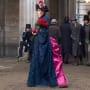 Irene Adler's Crazy Dress