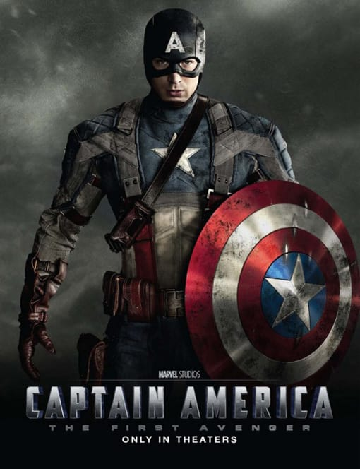 Captain America: The First Avenger Poster Revealed