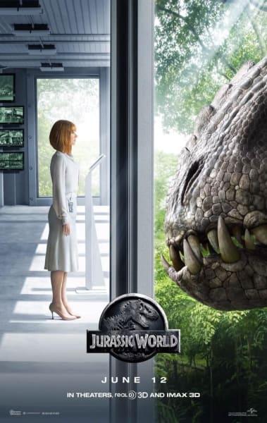 Jurassic World Bryce Dallas Howard Poster