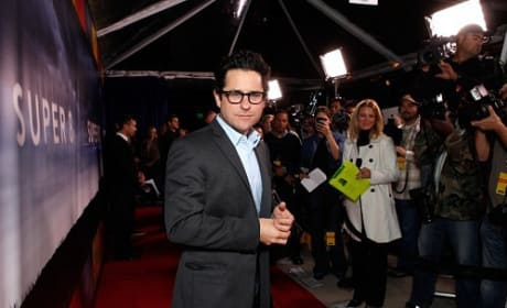 J.J. Abrams at the Super 8 Premiere
