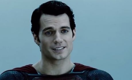 Henry Cavill is Superman in Man of Steel