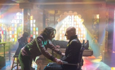 X-Men: Days of Future Past Stars James McAvoy Patrick Stewart