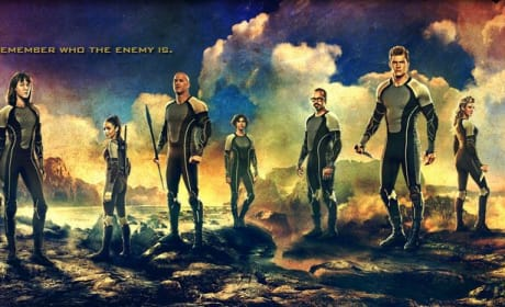 Catching Fire Unveils Banner: All Tributes Represented!
