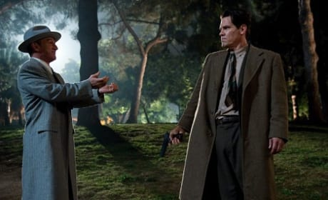 Sean Penn and Josh Brolin Star in Gangster Squad Photo