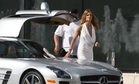 Rosie and a New Benz