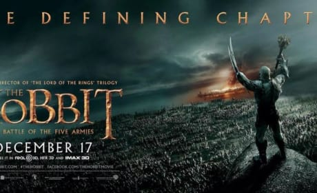 The Hobbit The Battle of the Five Armies Orc Banner